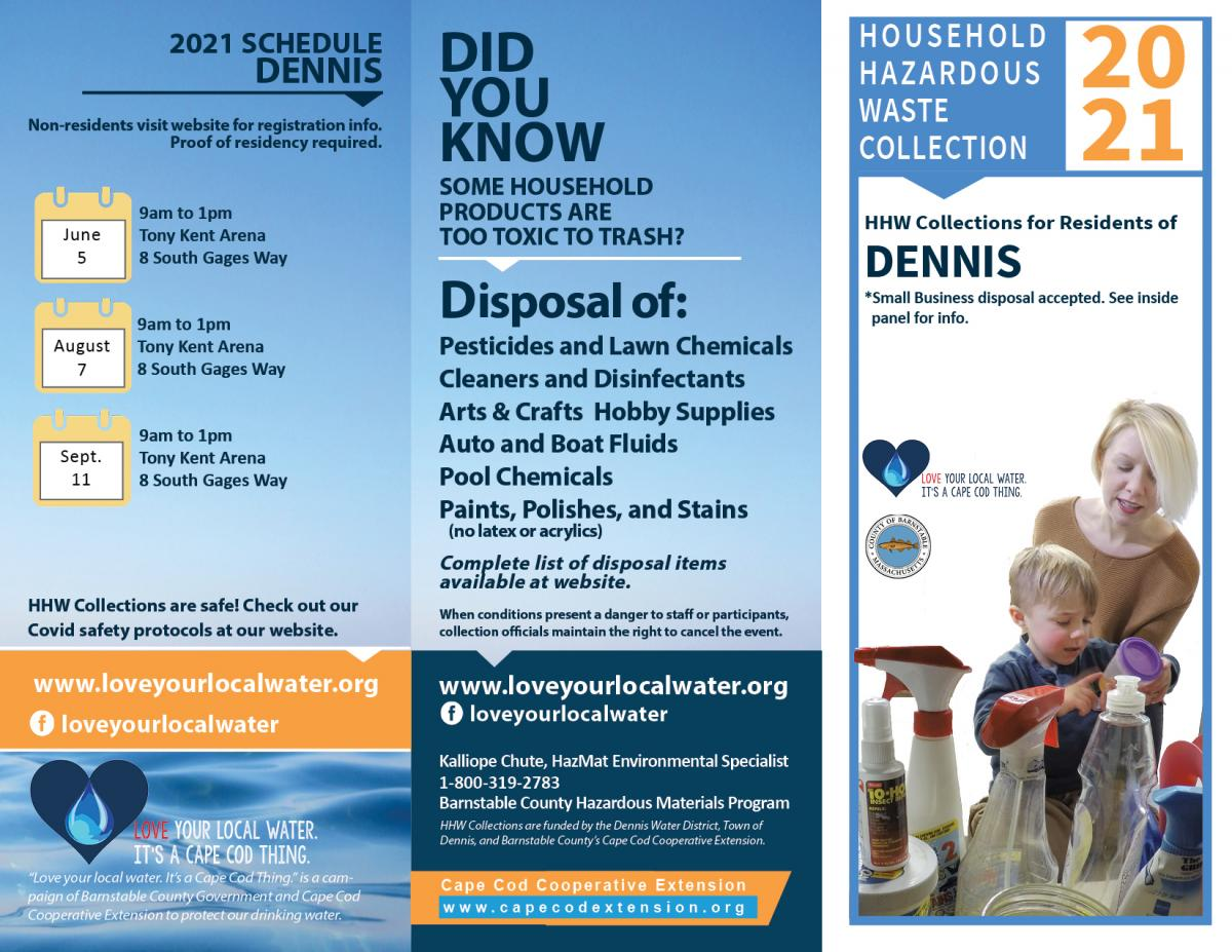 2021 Household & Sm. Business Hazardous Waste Collection