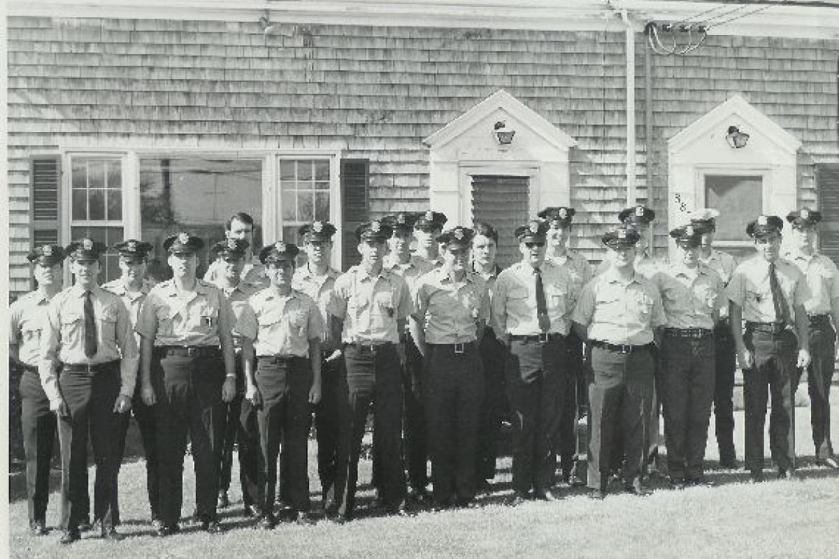 Historical Photos of Dennis Police