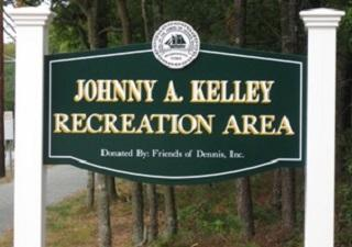 Johnny A. Kelley Recreation Area Sign